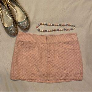 Alice + Olivia Pink Mini Skirt